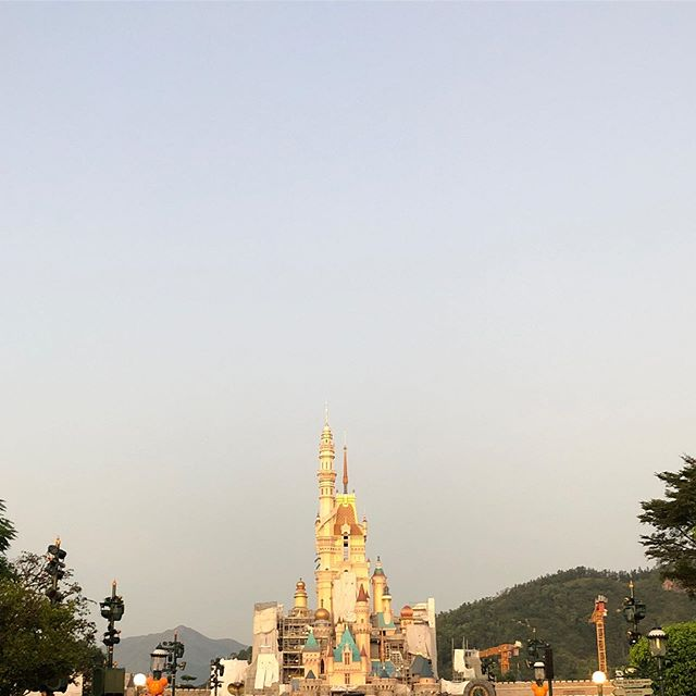 """Phew. That was a quick one. Headed back home after a whirlwind """"how fast can I program a parade"""" drop in on a great team working tirelessly at HKDL"""