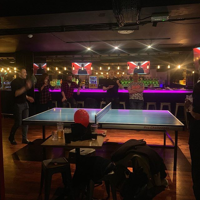 Ping pong tournament success! 🏓all in aid of our lovely clients @irish_heart_foundation ❤️#perfectmatch