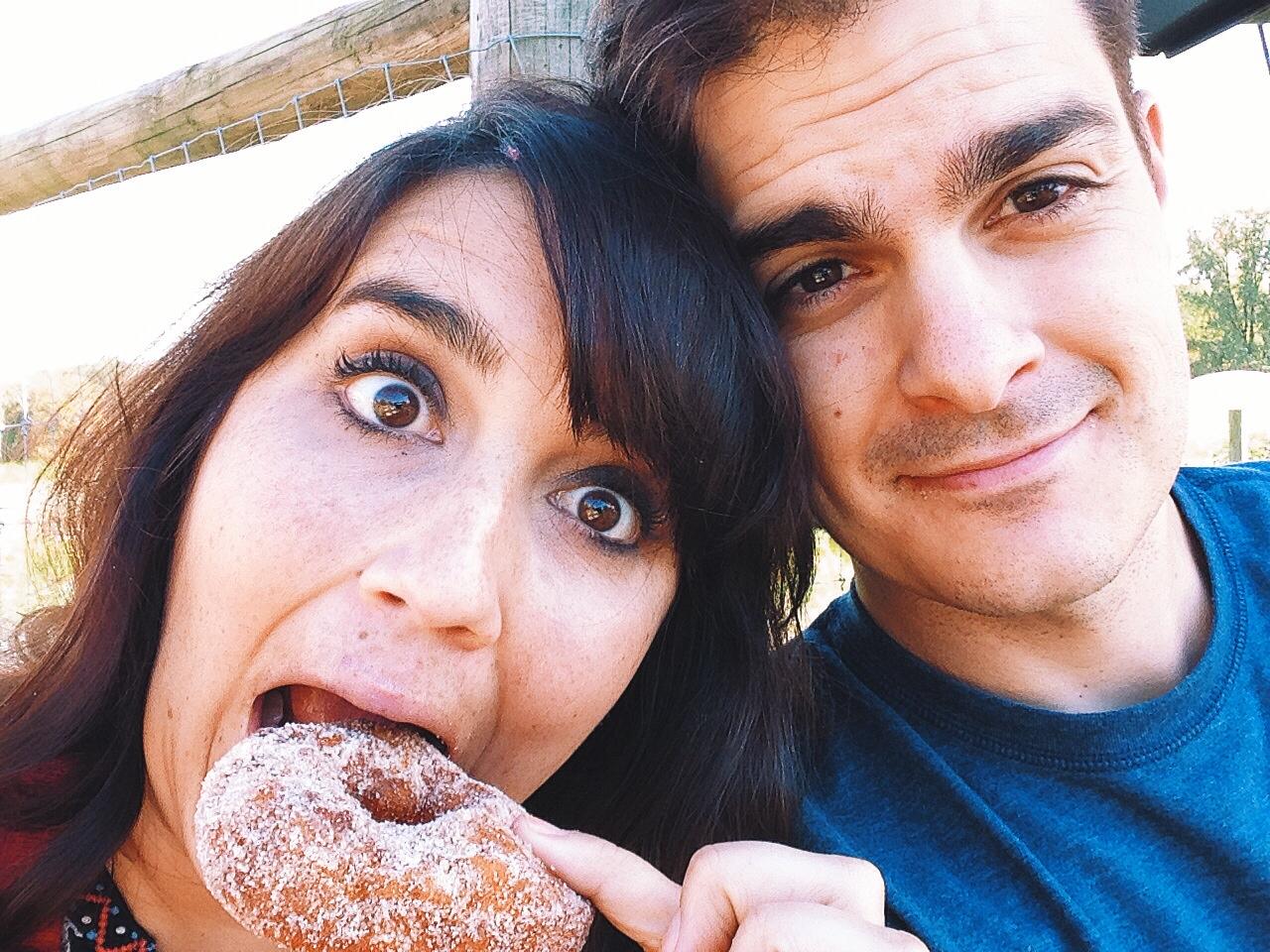 J and K doughnut fall.JPG