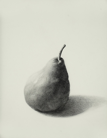 Pear-graphite--on-paper-8x10-2009.jpg