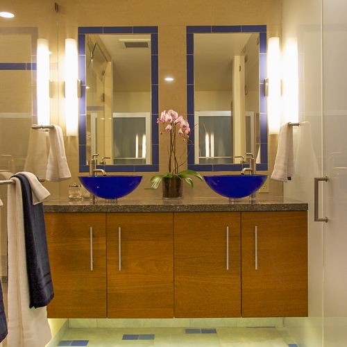 Alameda Mid-Century Modern Master Bath