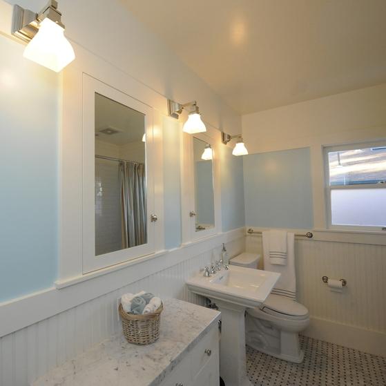 Berkeley Brown Shingle Guest Bath
