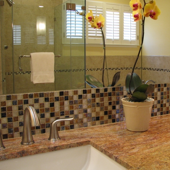 Oakland Hills Contemporary Master Bath
