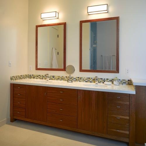 San Francisco Forest Knolls Contemporary Master Bath