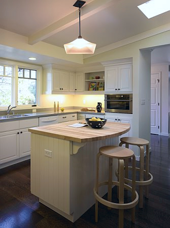 Lafayette Cottage Traditional Kitchen