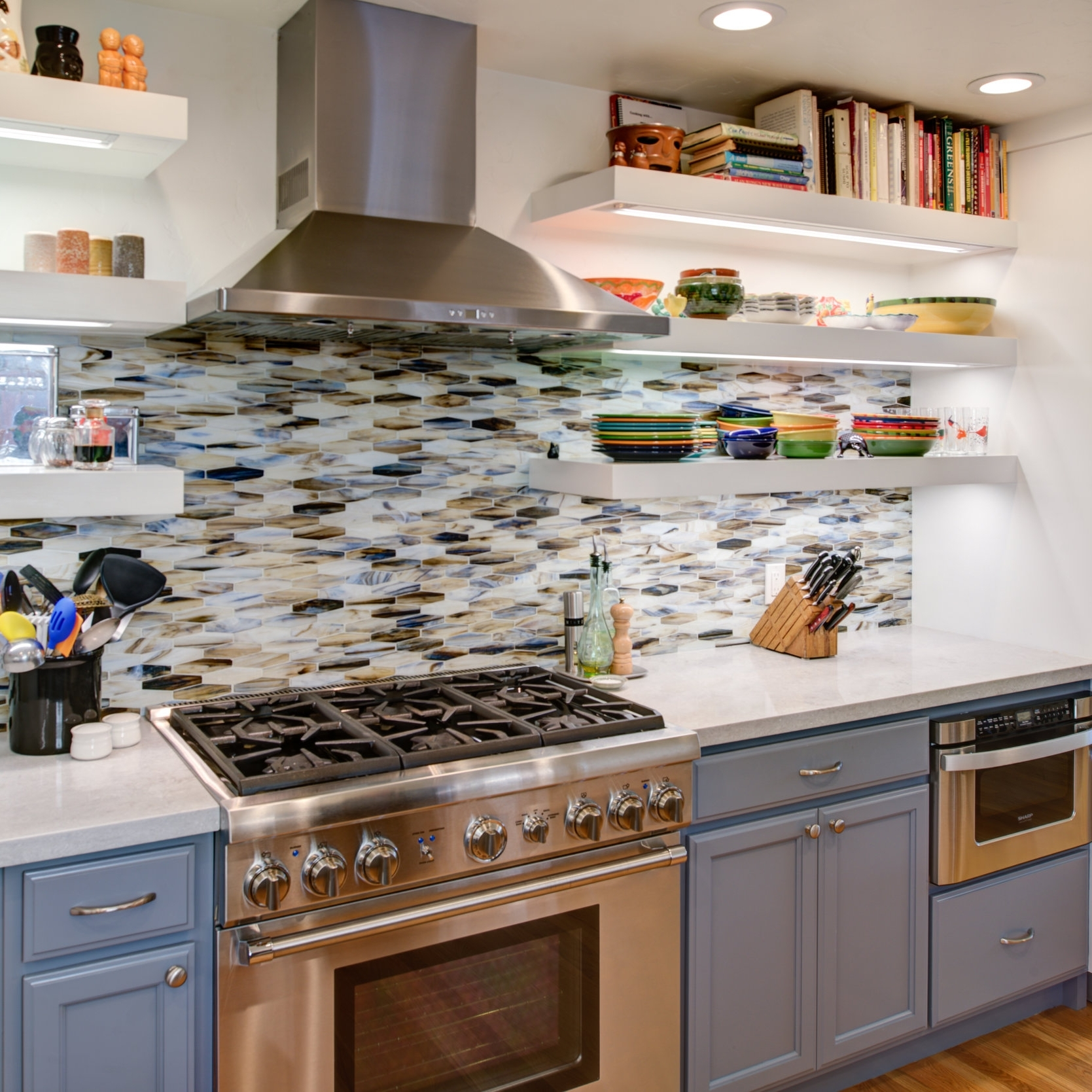 El Cerrito Modern Eclectic Kitchen