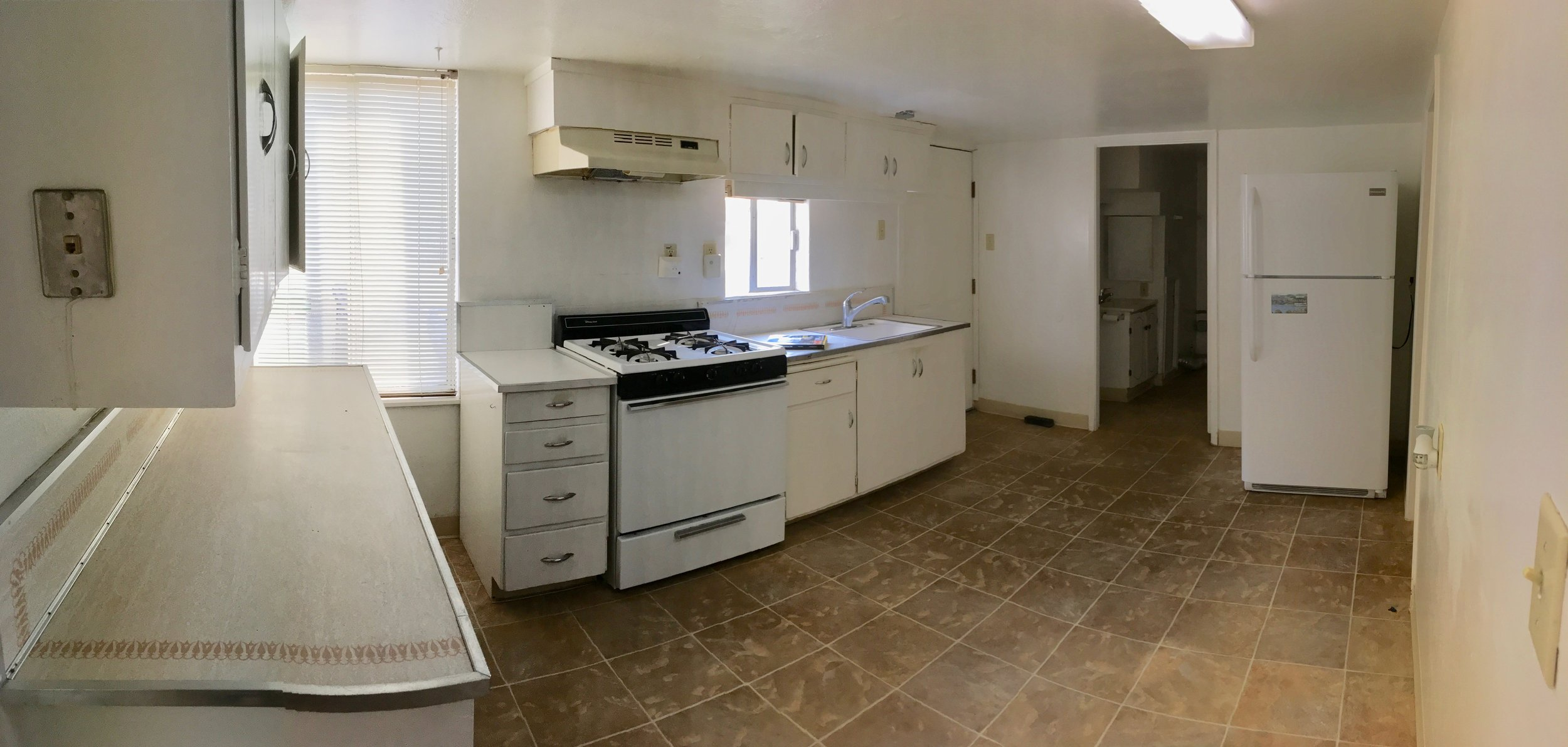 Kitchen in the rental unit