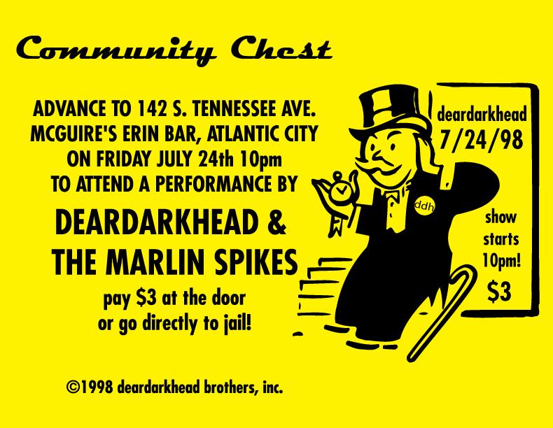 McGuire's, Atlantic City, NJ 07/24/98