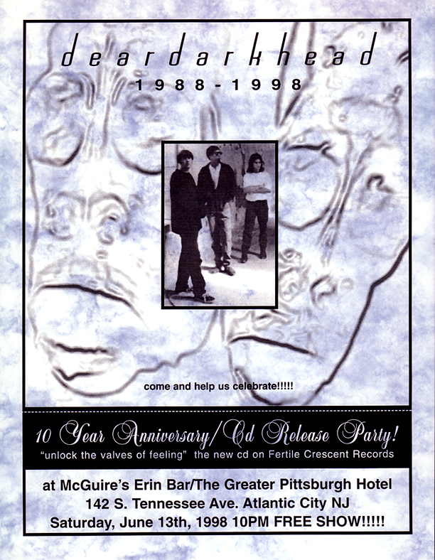 10 Year Anniversary Show, McGuire's, Atlantic City, NJ 06/13/98