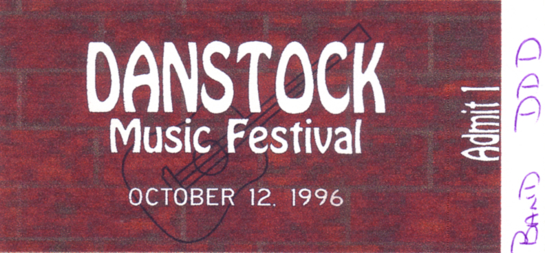 Danstock Music Festival, Upper Twp., NJ 10/12/96
