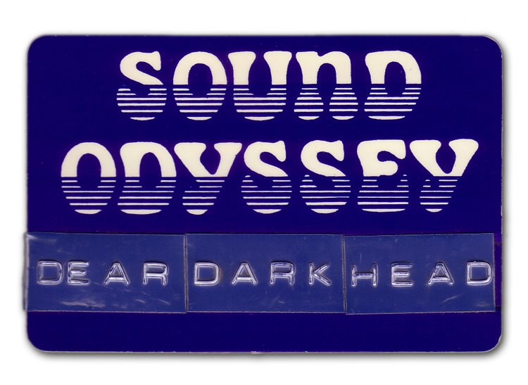 Rob's name tag from Sound Odyssey circa 1988, the year the band started!