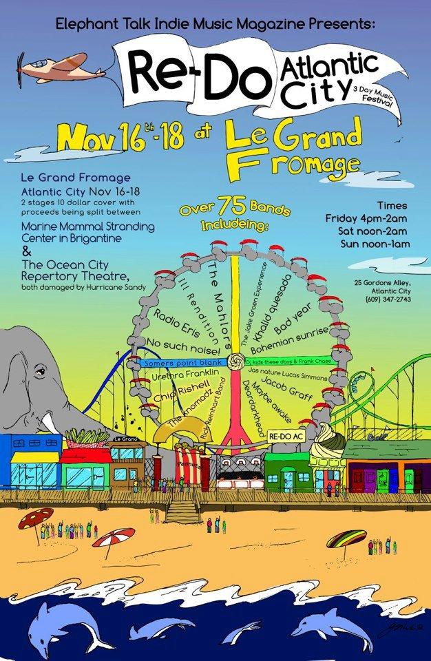 Le Grand Fromage Atlantic City, NJ 11/18/12