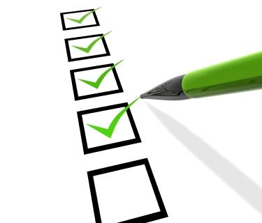 Checklist - Complete!