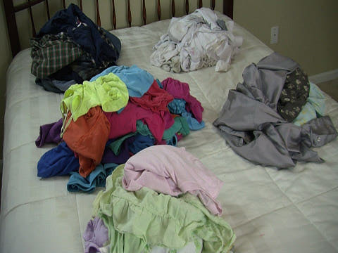 $600 - Thats how much we give clients, on average, each month because their helper damaged something in the laundry.