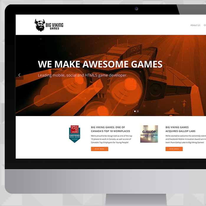 BIG VIKING WEBSITE REDESIGN