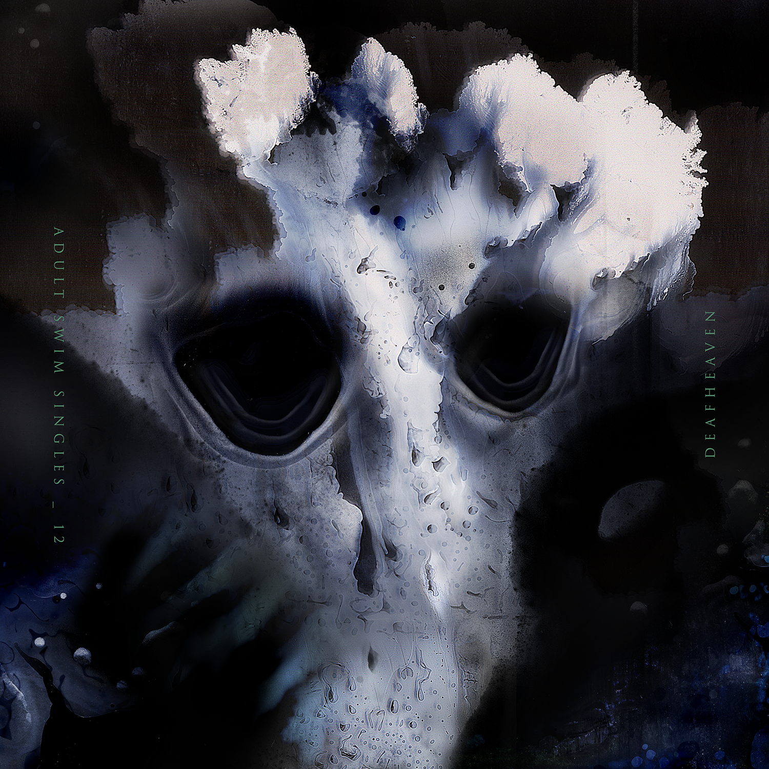 Art direction, design and illustration for Deafheaven's  From The Kettle Onto The Coil single. The artwork was created through a series of scanner paintings, a process of layering ink directly onto the glass scanner bed.