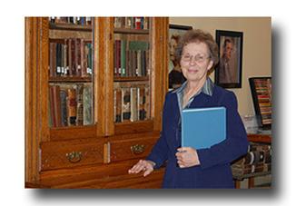 Joyce Shepherd, Librarian