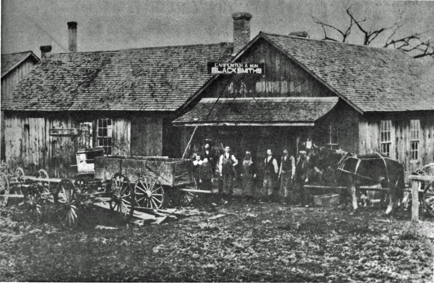 The Ralph H. Carpenter Body Company was founded in Mitchell, Indiana, in 1919 by blacksmith and wagon maker, Ralph Carpenter.