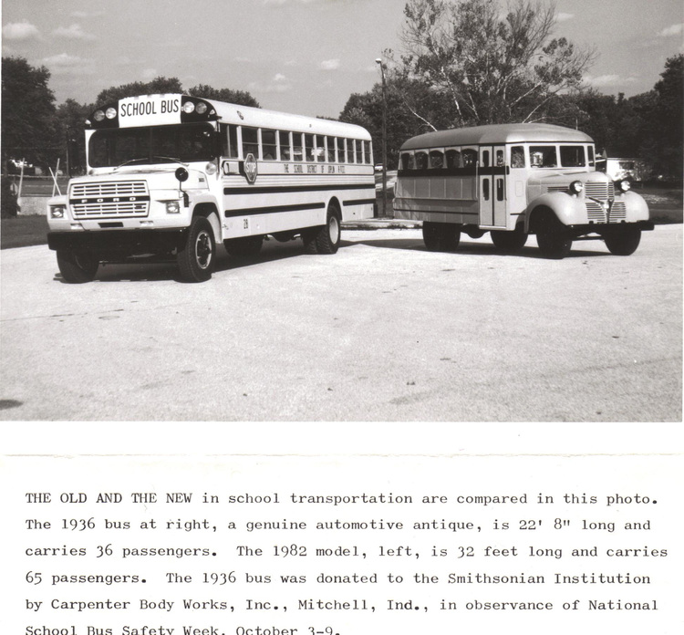 Carpenter Bus Exhibit — Lawrence County Museum of History