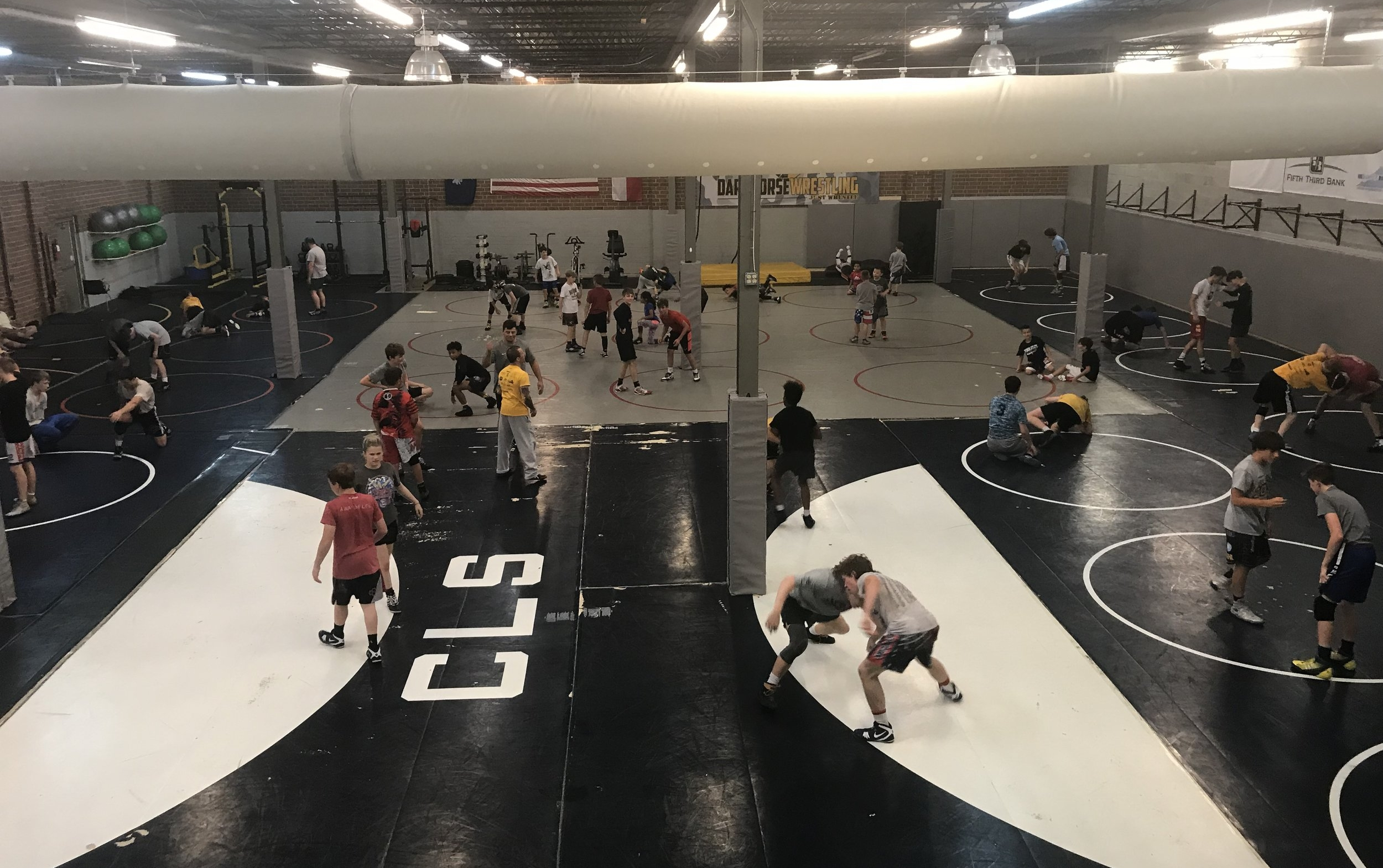 With just over 70 wrestlers in attendance - the Darkhorse summer camp featuring 2 x NCAA National Champion VINCENZO JOSEPH was a great way to augment your summer training!! See our CAMPS page for more information about all our summer training opportunities.
