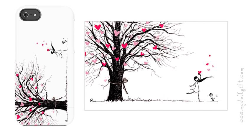 love tree-iphone casing