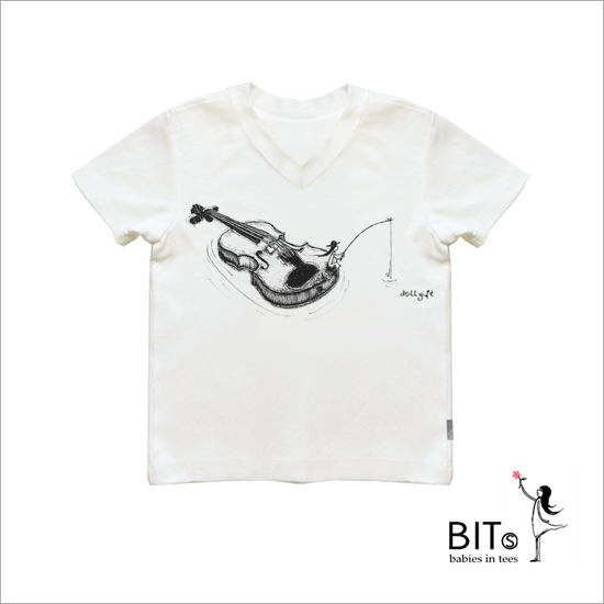 Just Another Lovely Day - Bamboo Fabric V-neck Baby T-shirt *UNISEX*