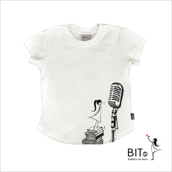 Your Attention Please - Organic Cotton Baby T-shirt *GIRL*