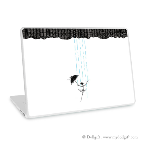 Dancing In The Rain  , Laptop skin