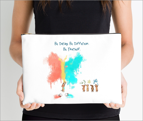 Be Daring, Studio pouch - Large