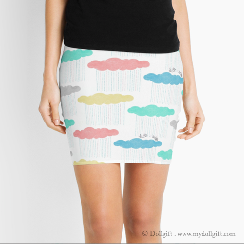 Pencil Skirt - Available in size XXS to XXL