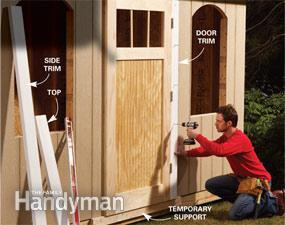 Attach Door Trim