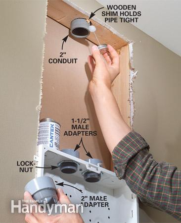 Add PVC Conduit