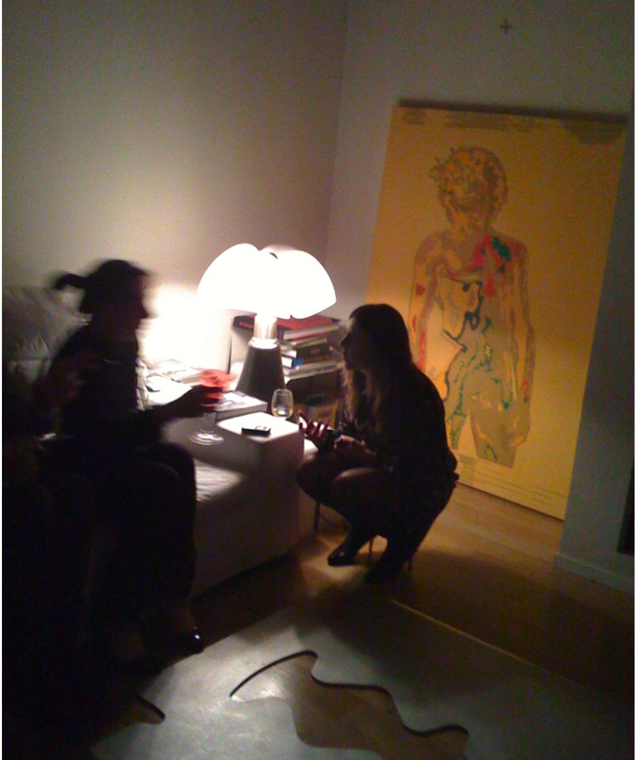 Copy of Lans King - Installation Party at Collectors House