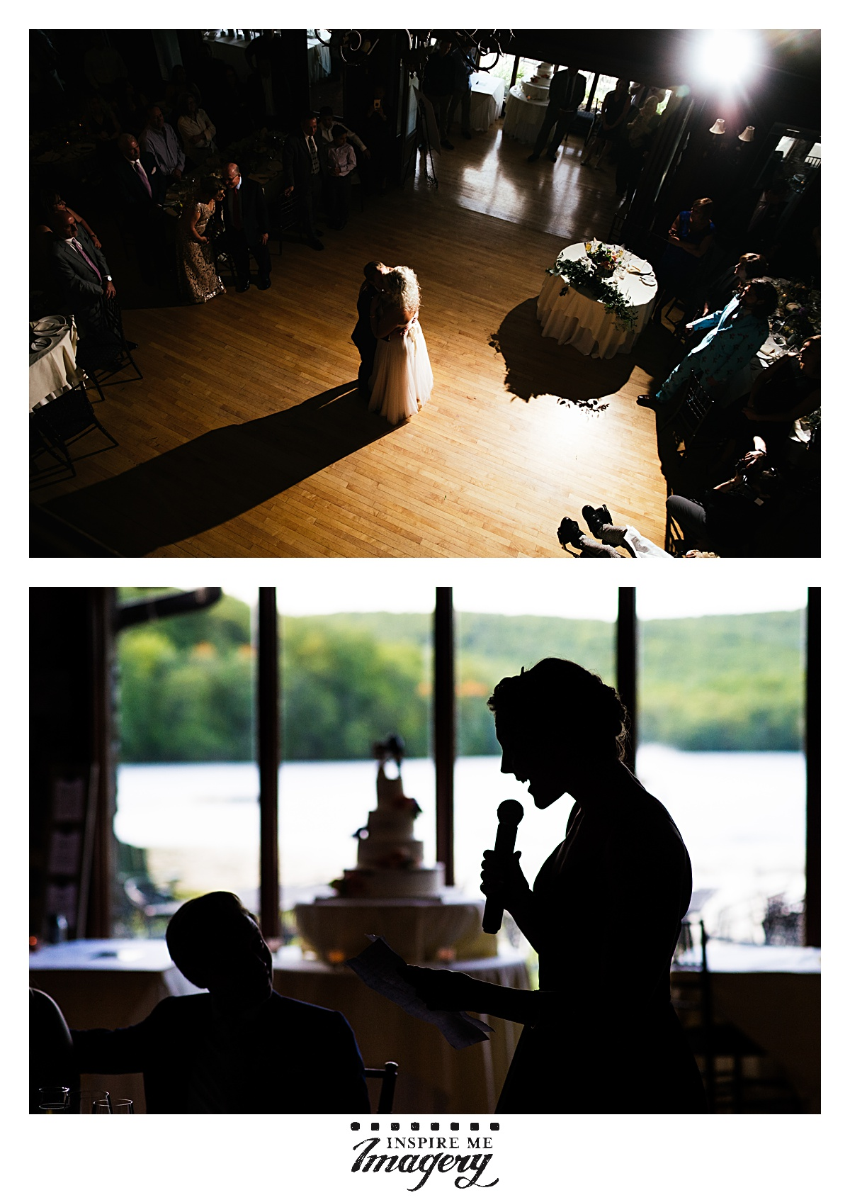 Their first dance was beautiful, and the speeches were heartfelt and hilarious all at once.