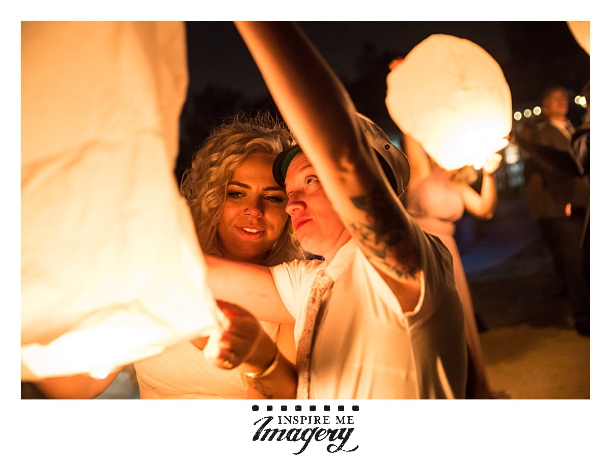 Ending the night with a paper lantern release was perfect and magical, and the warm light from them was just incredible.   Seriously, this was one of the best weddings in the history of Inspire Me Imagery. If you have any questions about any details you liked, or the Lake Valhalla Club, send us an email and we'll help you out!