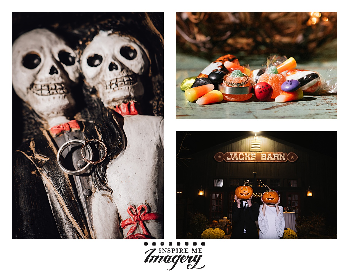 A few more photos from this awesome Halloween themed wedding. <3