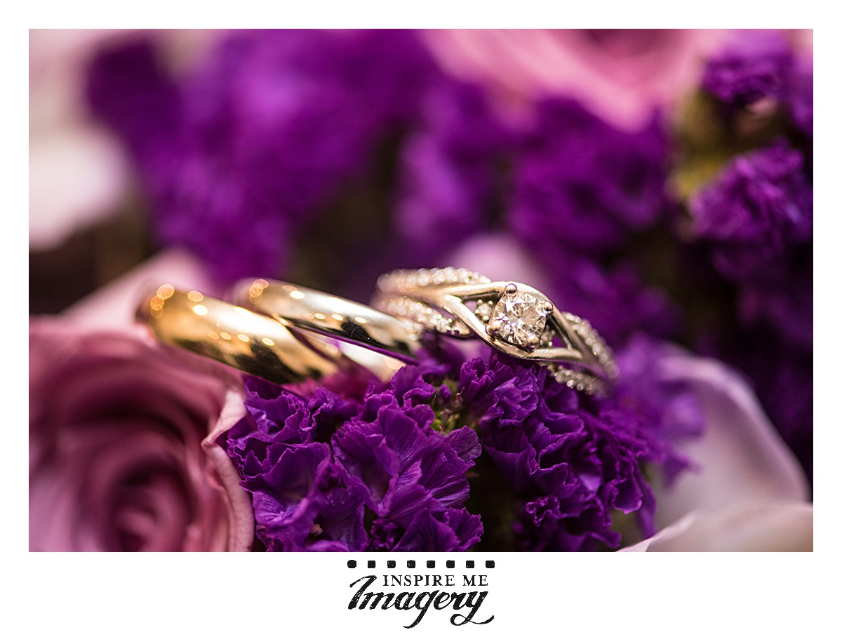 Aren't their wedding bands beautiful in their simplicity? In Jewish tradition, wedding bands must be of unbroken gold and without stones and embellishments. This is to symbolize the hope for a marriage that will be the same--no distractions or conflicts. It's a super interesting thing to  read about .