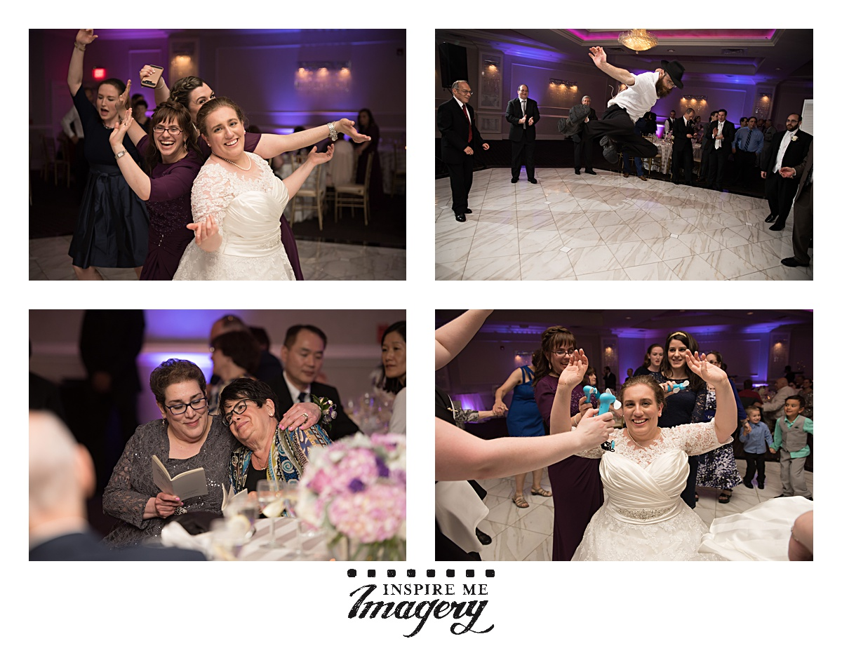 I love the pure joy in these reception photos.
