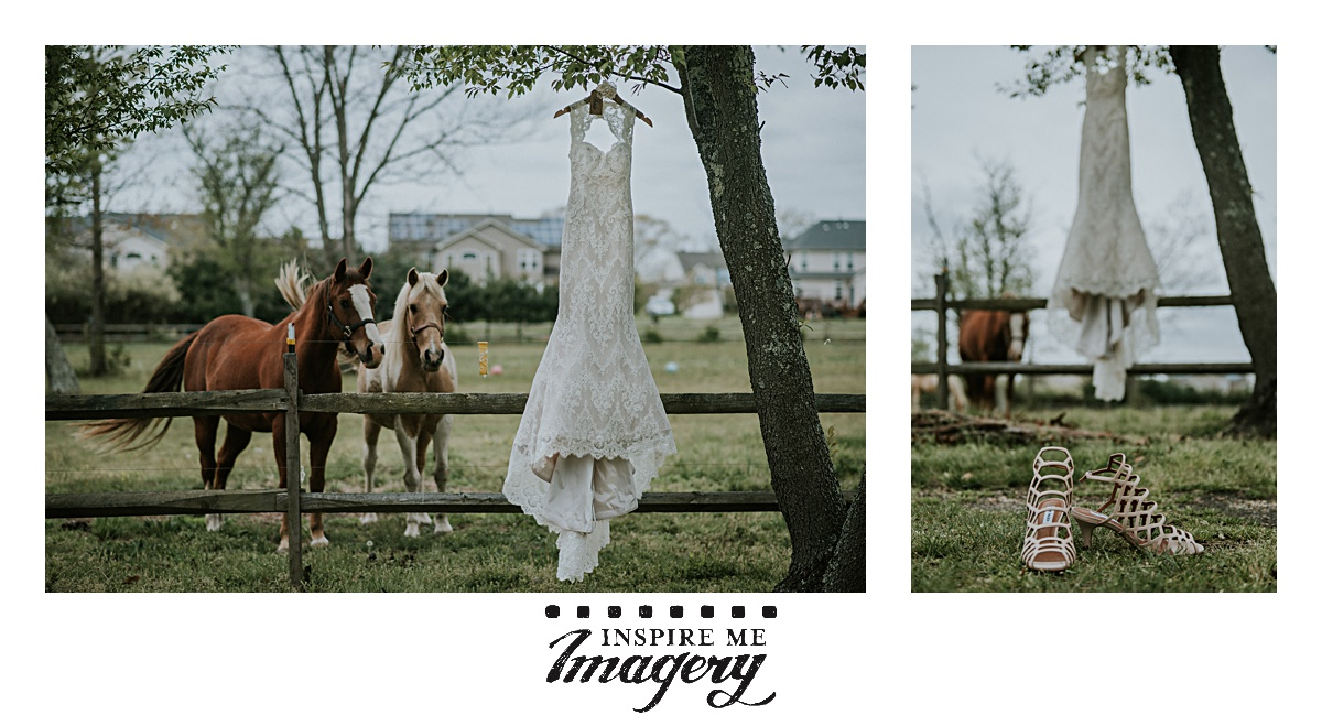 The bride asked for photos with her horses if possible. As if we'd argue about something as awesome as that!