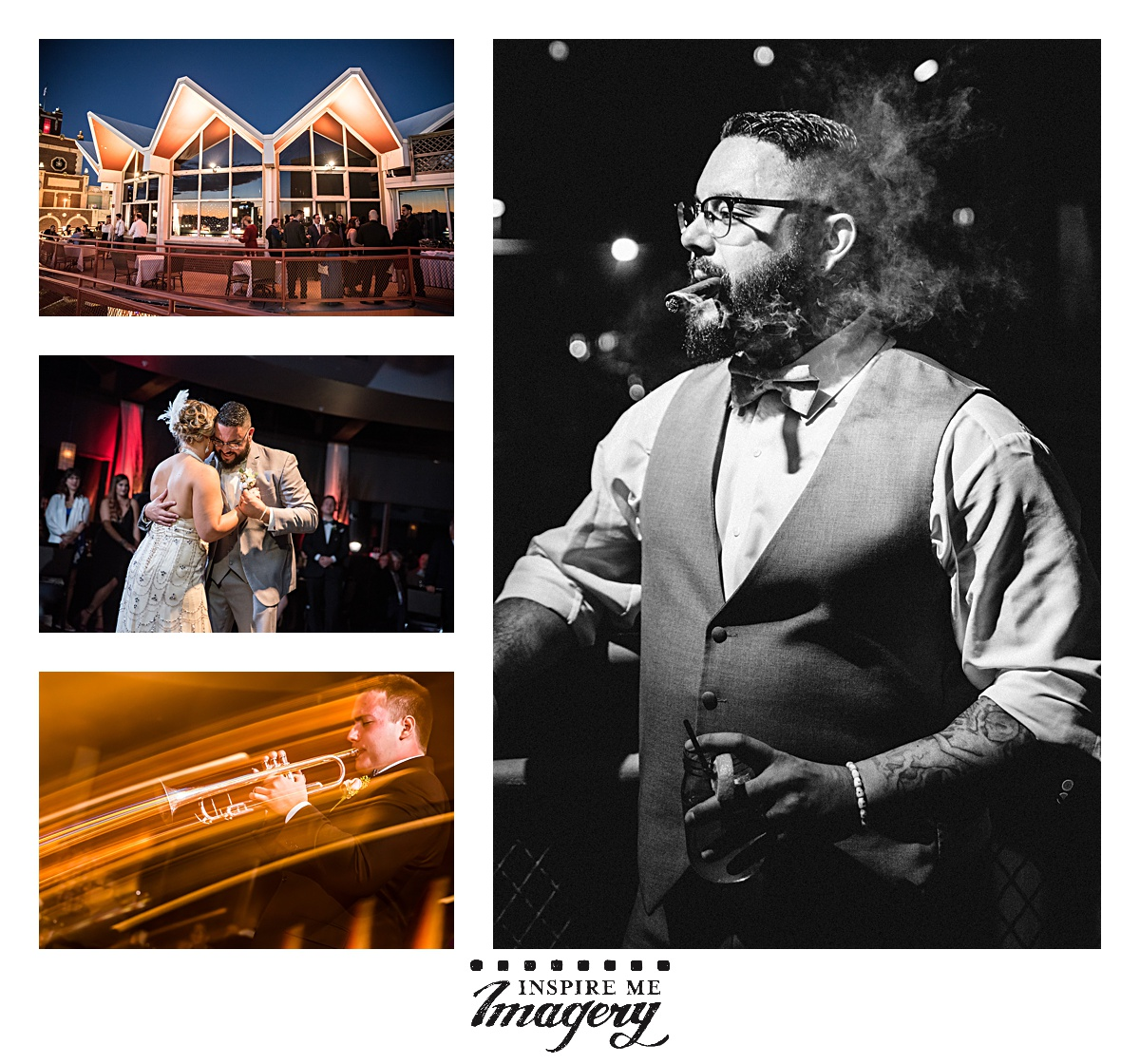The wedding reception was at a favorite venue of ours,McLoone's Supper Club in Asbury Park.