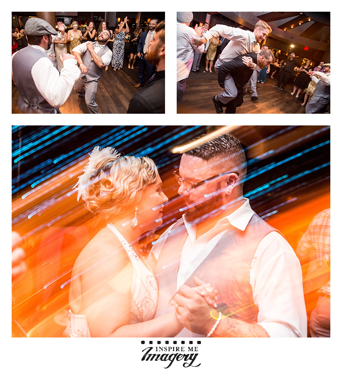 The reception was so wonderful. Everyone danced the night away, and it was an amazing ending to an amazing day.