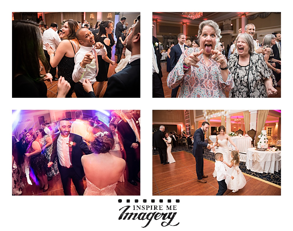Fun photos from the wedding reception!