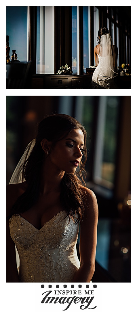What can you say about a beautiful bride in beautiful evening light?