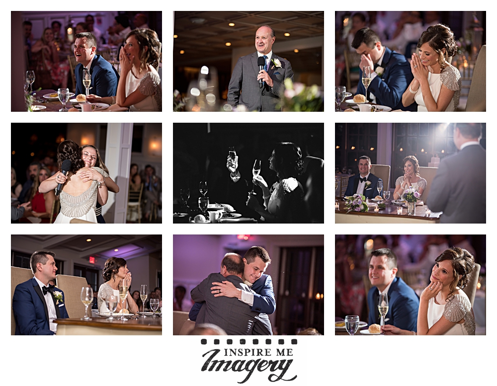 The best wedding day toasts are always a mix of the sentimental and the hilarious.
