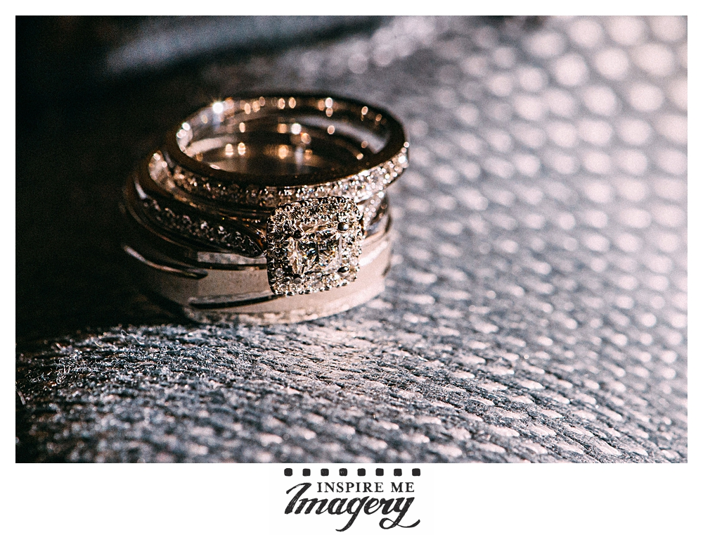 Their wedding rings were beautiful, and we positioned them on a sneaker as a subtle nod to their passion.
