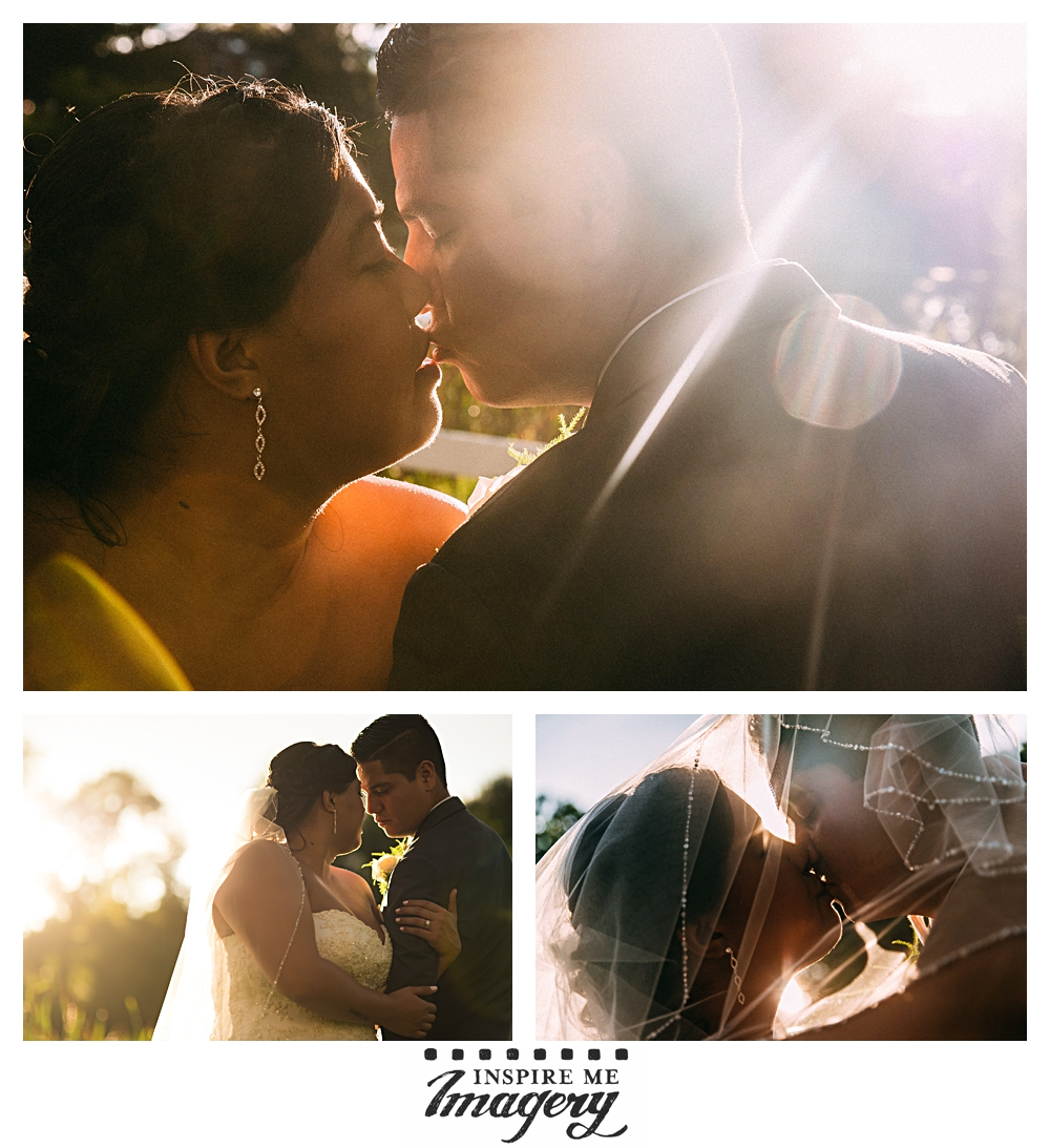 Portraits of the bride and groom as we near sunset.