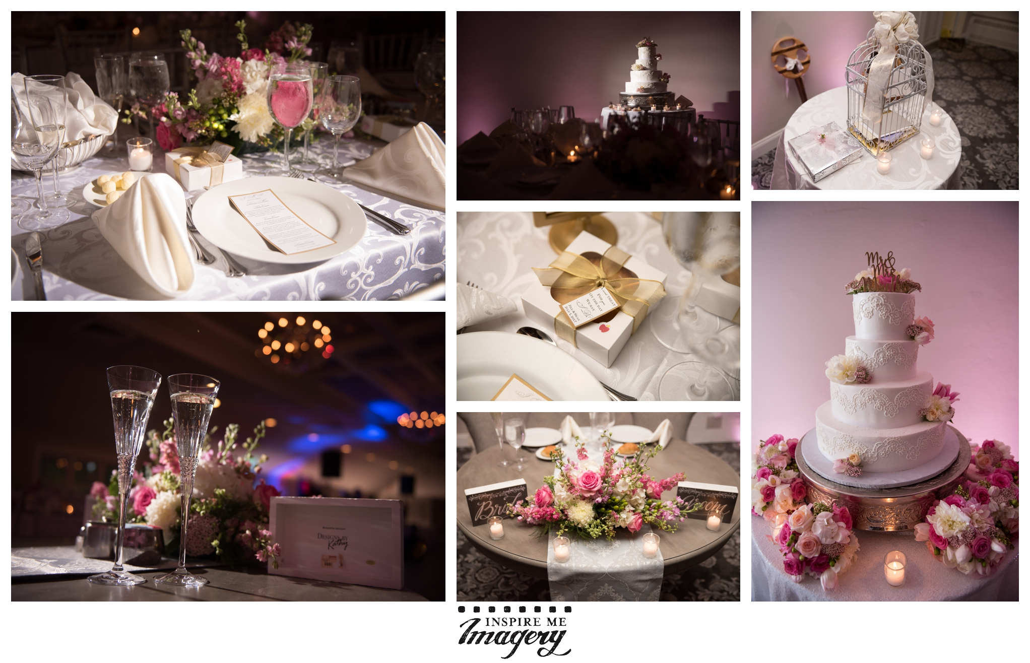 We love the soft pink tones of the florals for this wedding. The whole day had such a classic, romantic vibe to it.