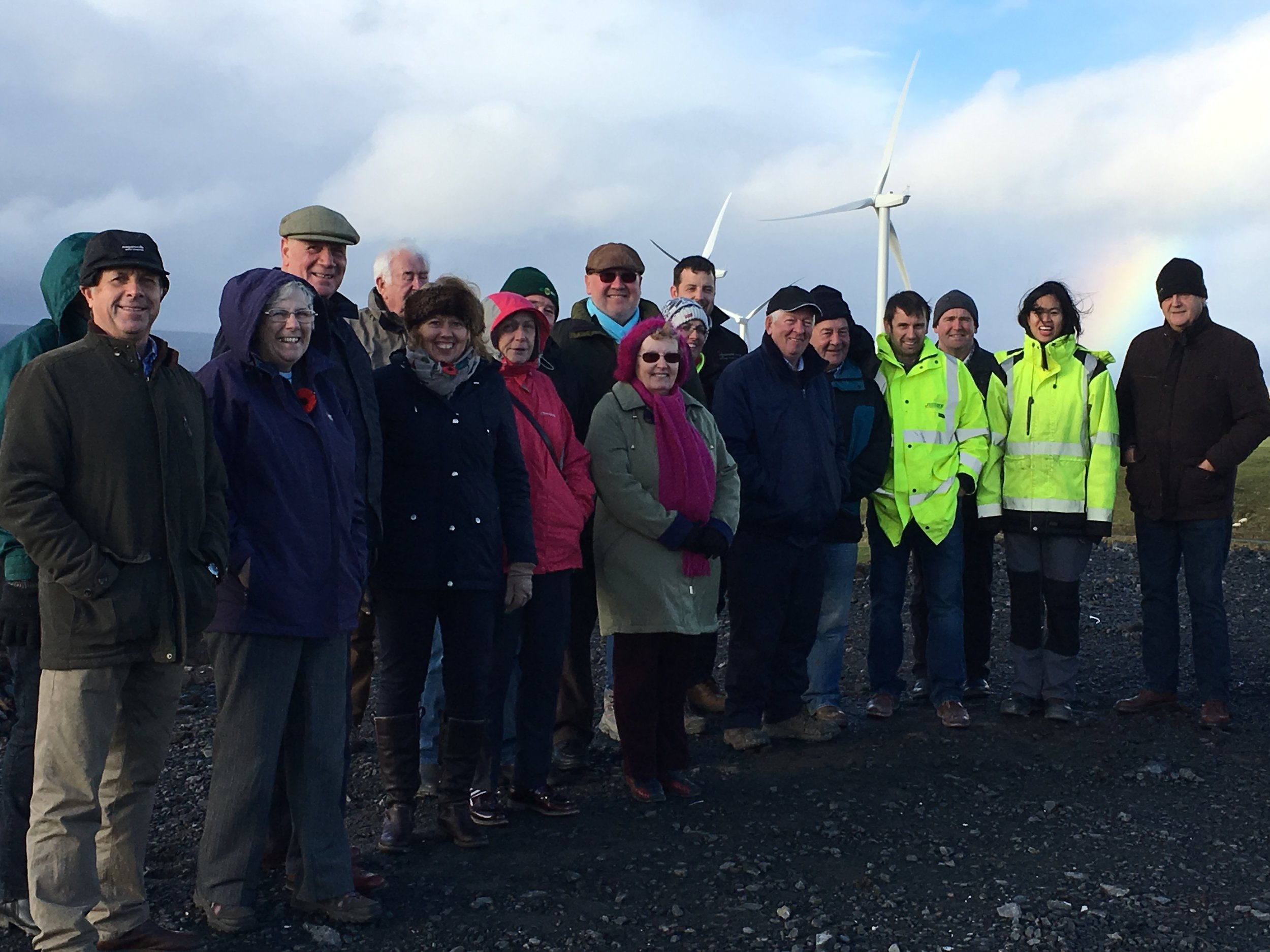Site visit with local councillors