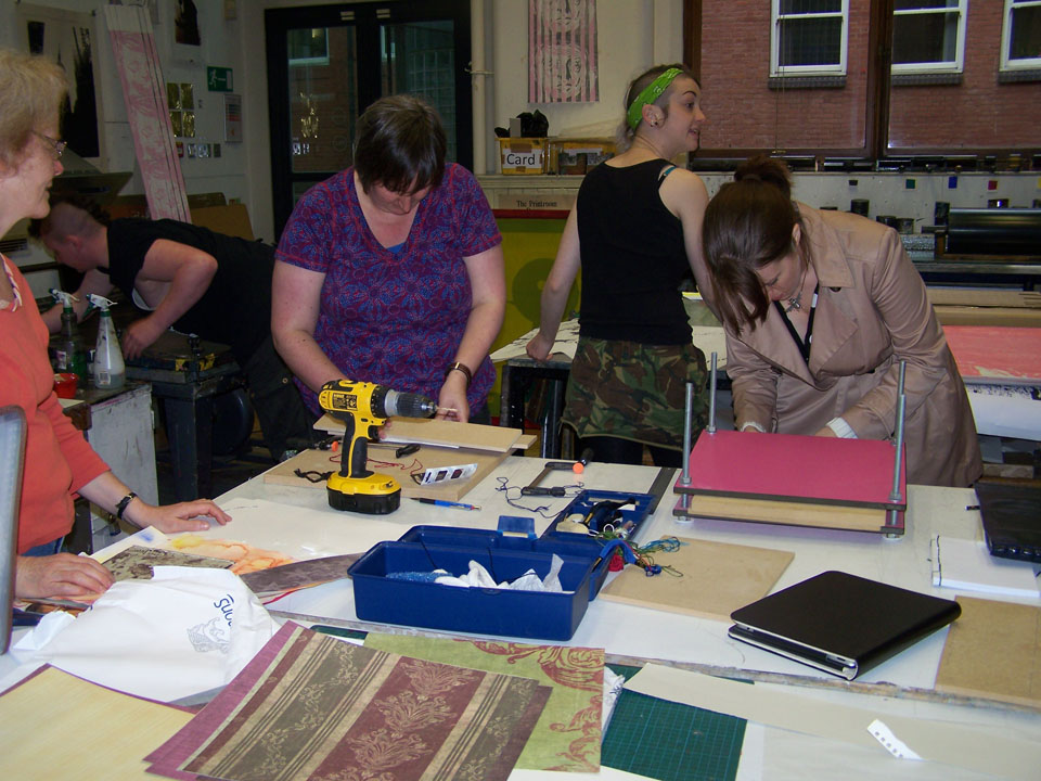 Japanese Book Binding hosted by Ana Rutter