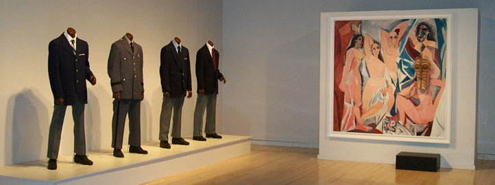 Fred Wilson  Picasso/Who Rules? , Installation view